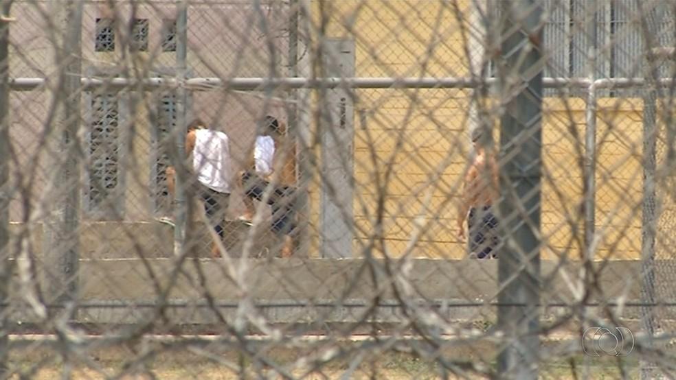 Levantamento mostra que quase 40% dos presos no TO têm até 24 anos (Foto: Reprodução/TV Anhanguera)