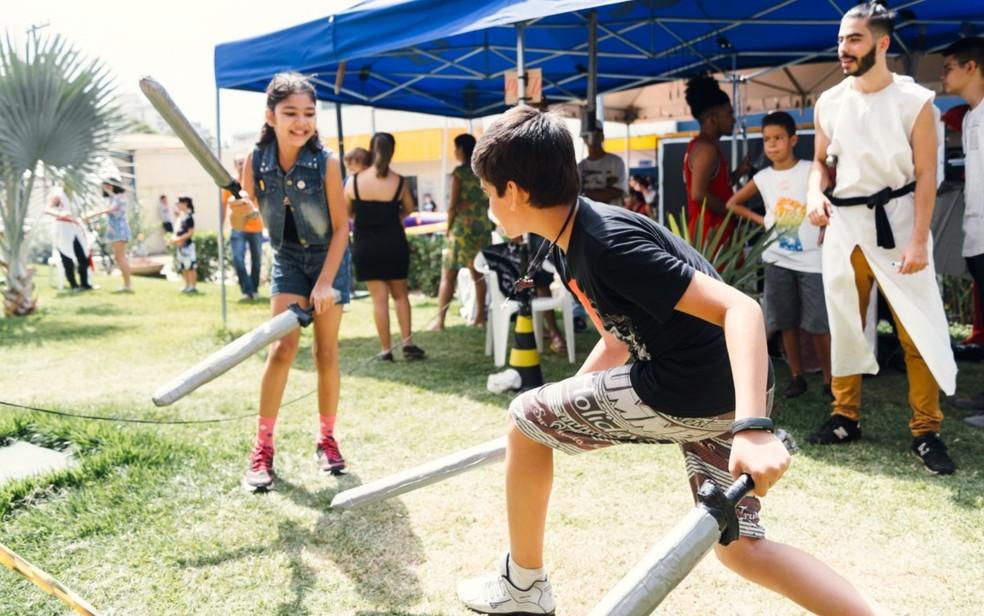 Evento reúne apaixonados pela cultura geek, em Goiânia — Foto: Sesc/Divulgação