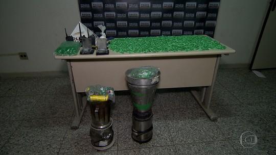 Polícia Militar apreende grande quantidade de drogas em Ibirité, na Grande BH