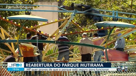 MP cobra da Prefeitura de Goiânia alvará e vistoria de brinquedos para reabertura do Parque Mutirama
