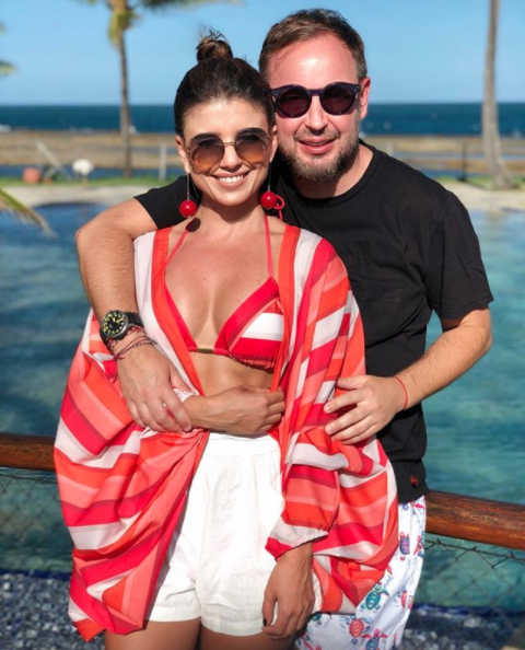 Paula Fernandes e namorado  (Foto: Reprodução)