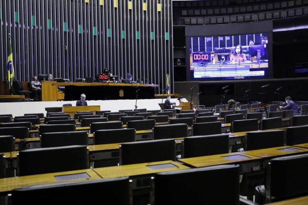 Câmara dos Deputados — Foto: Najara Araujo/Câmara dos Deputados