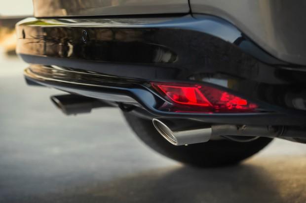 Escapamento duplo do Honda HR-V Sport é bem chamativo (Foto: Divulgação)