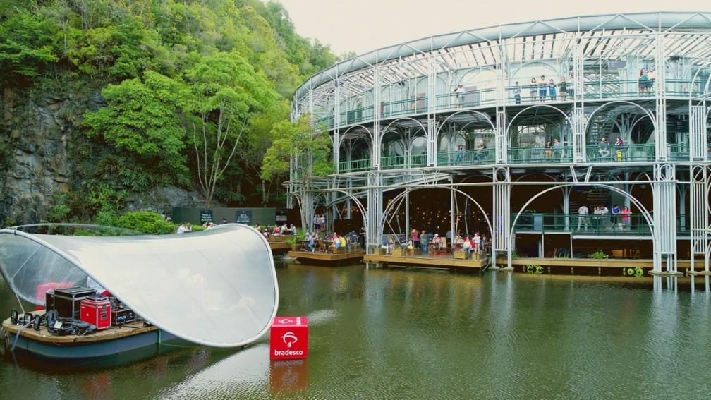 A Opera de Arame, um dos cartões-postais de Curitiba, foi inaugurada na gestão Lerner — Foto: Luiz Guilherme/Divulgação