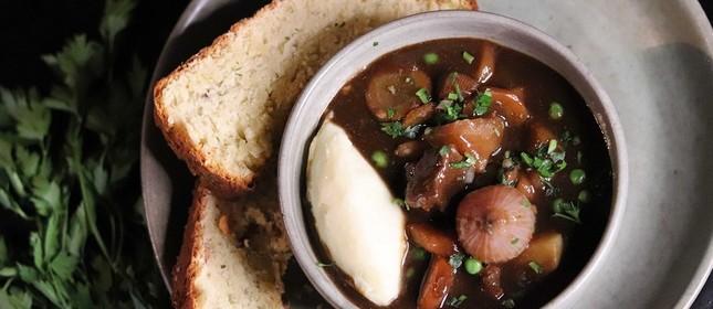 Shenanigan's Irish Pub: prato para inverno