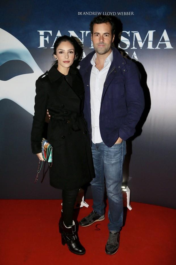Carol Celico e Eduardo Scarpa (Foto: Manuela Scarpa/Brazil News)