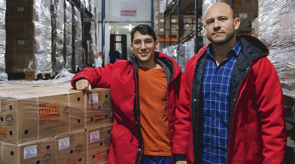 Elton Soares e Thiago Mariano, da Frezze: previsão de faturamento de R$ 2 milhões (Foto: Camila Cara)