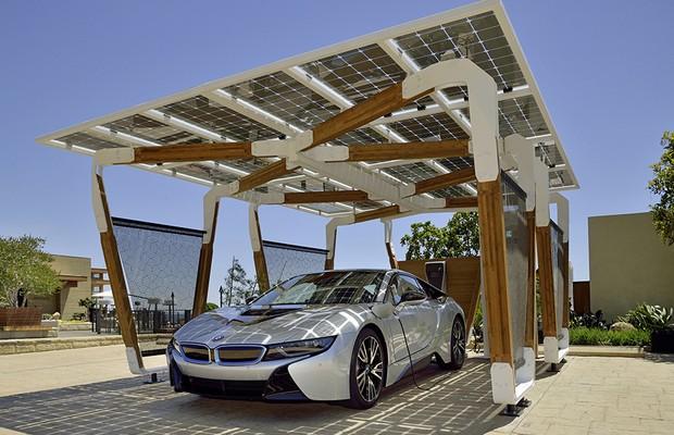 Bmw Cria Projeto De Garagem Para Recarregar Carros