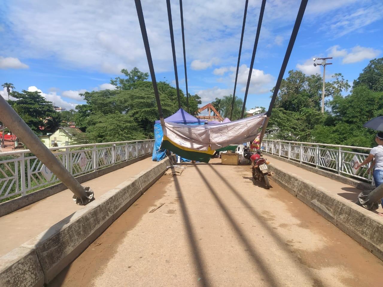 Sem necessidade de intervenção nos protestos, Tropa de Choque deixa fronteira do AC com Bolívia - Notícias - Plantão Diário