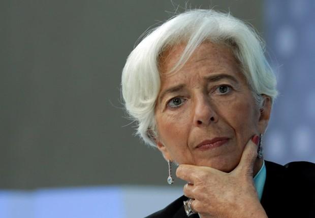 A diretora-gerente do FMI Christine Lagarde (Foto: Yuri Gripas/Reuters)