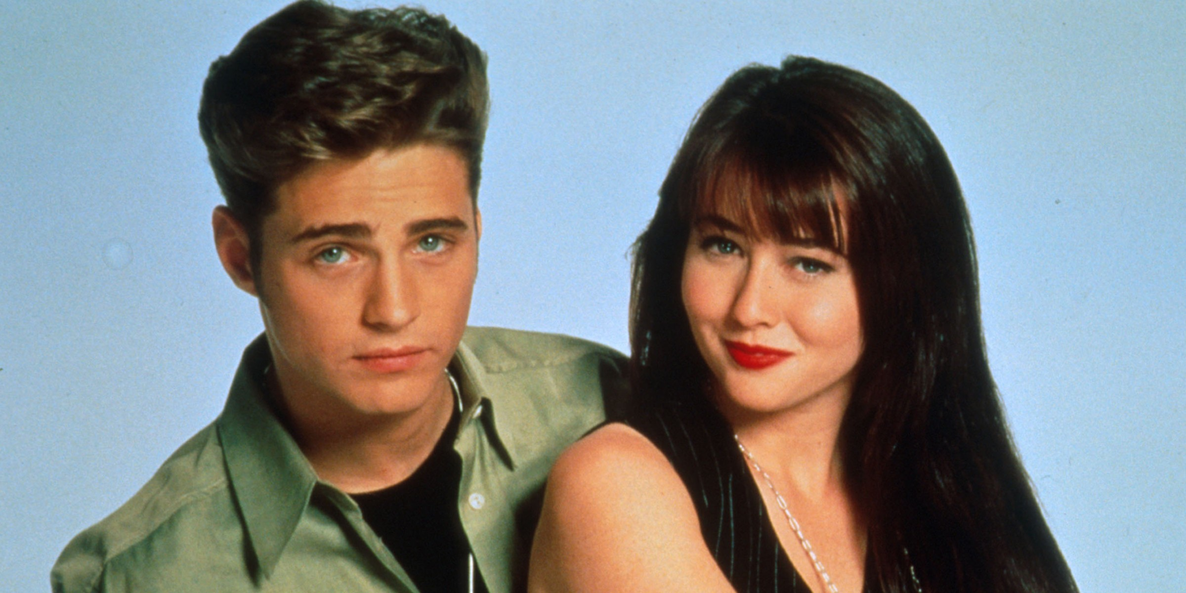 B7YFCM Beverly Hills, 90210 TV-Series 1990-2000 USA Created by Darren Star Shannen Doherty, Jason Priestley. Image shot 1990. Exact date unknown. (Foto: Alamy Stock Photo)