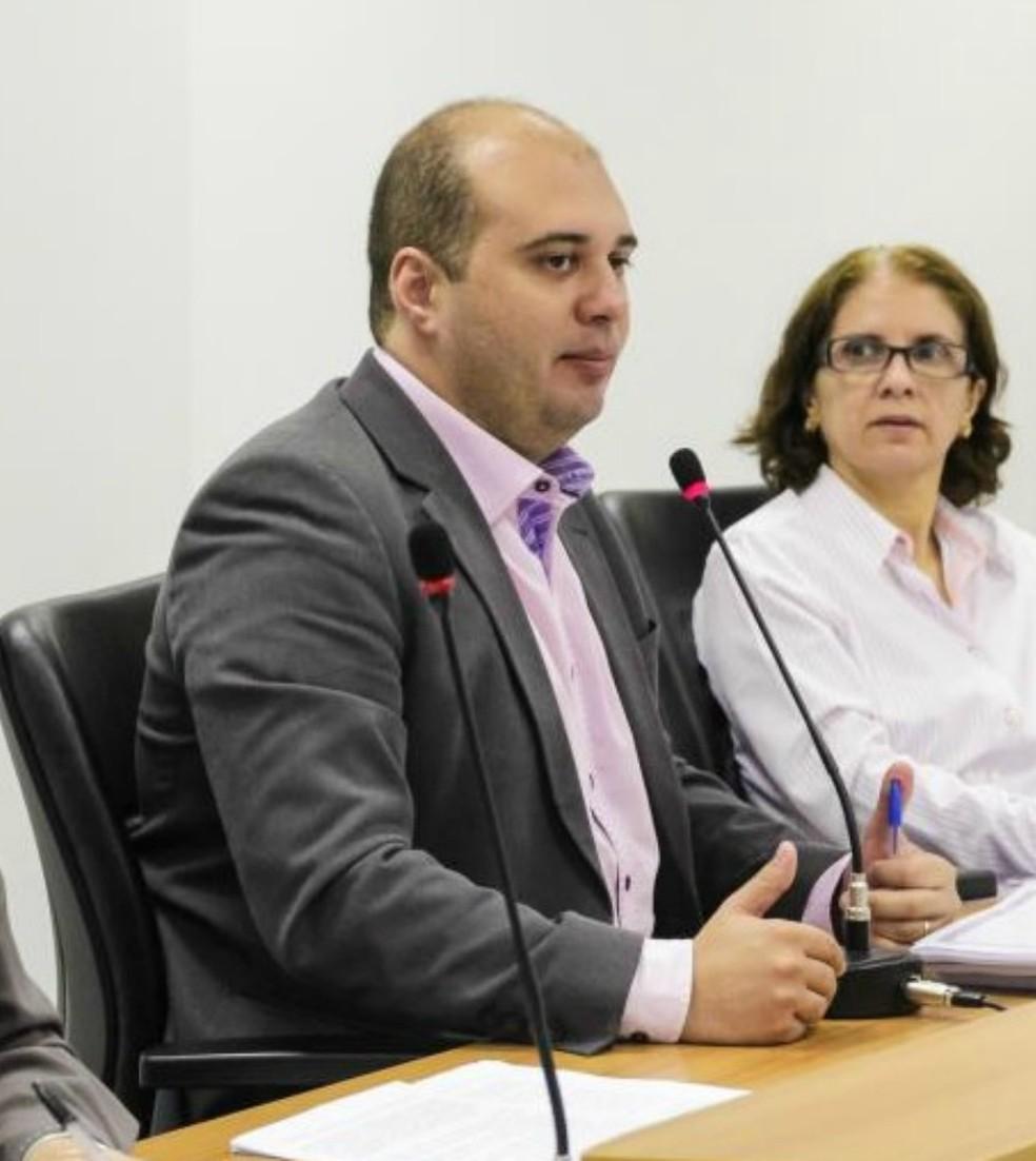 Dr. Leonardo (SD) já apresentou relatório em plenário  â?? Foto: Marcos Lopes/ AL-MT
