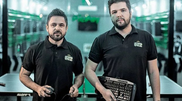 Rogério Rodrigues e Luxas Almeida, fundadores do INTZ (Foto: Divulgação)