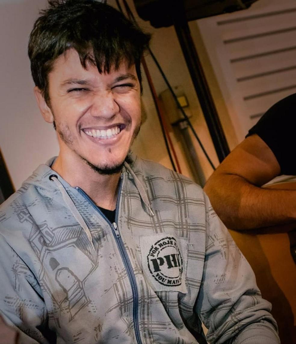 Cauê foi diagnosticado com linfoma de Hodgkin em 2009 (Foto: Arquivo Pessoal/ Cauê Felici Muniz dos Santos)