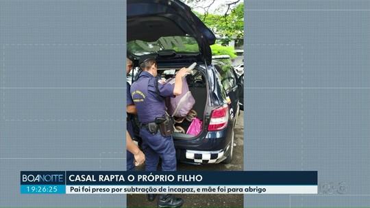 Pais vão para a delegacia por raptar a própria filha, em Maringá