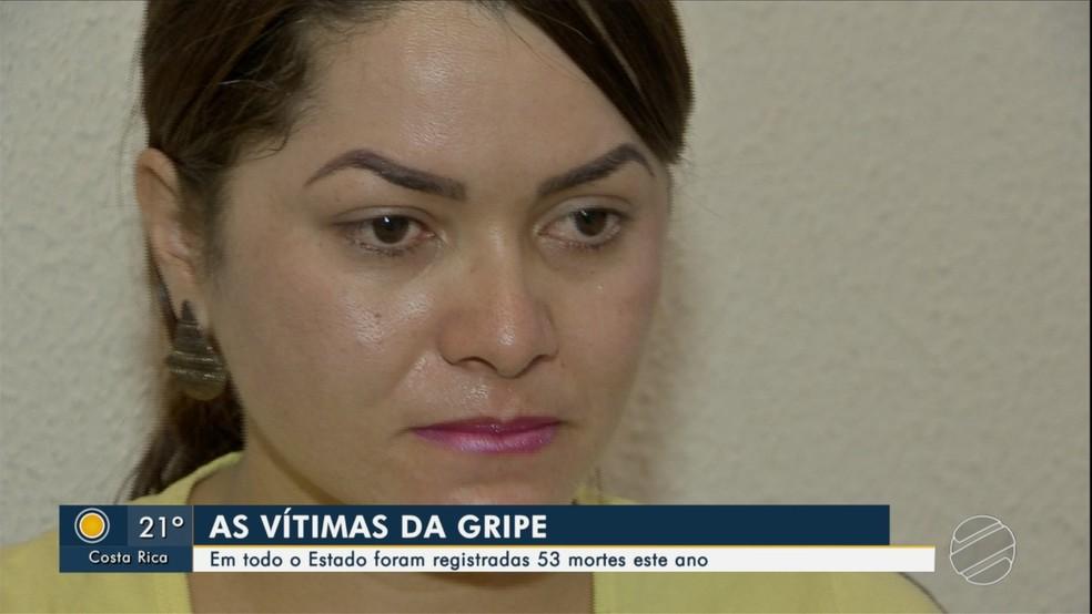 Comerciante perdeu a mãe que foi contaminada pelo vírus H1N1 â?? Foto: Reprodução/TV Morena