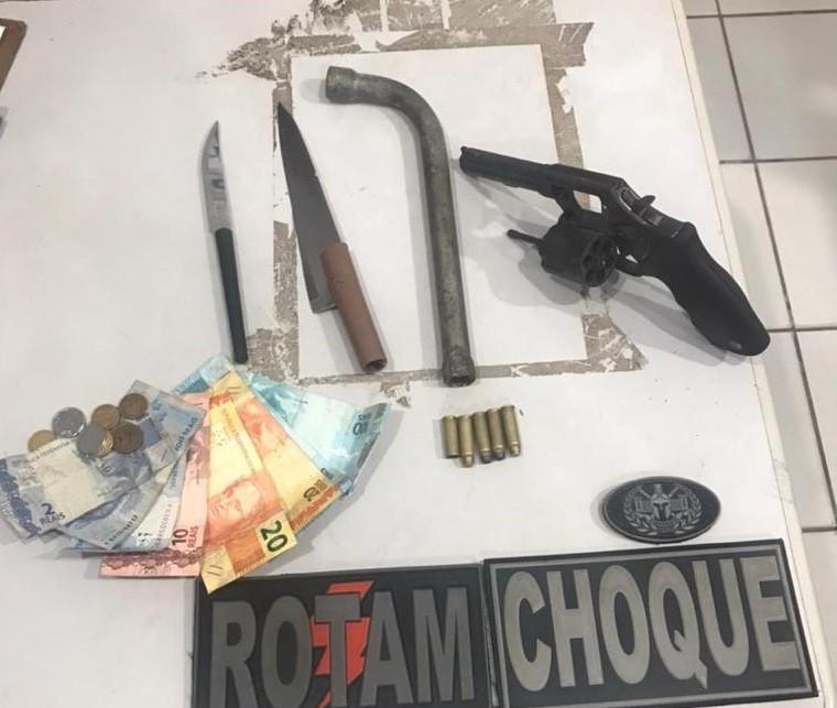 Grupo suspeito de praticar assaltos é preso em São Luís