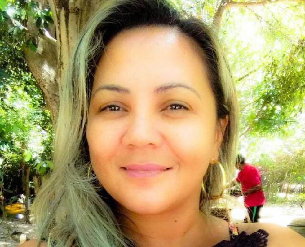 Professora foi feita refém por criminosos — Foto: Arquivo Pessoal