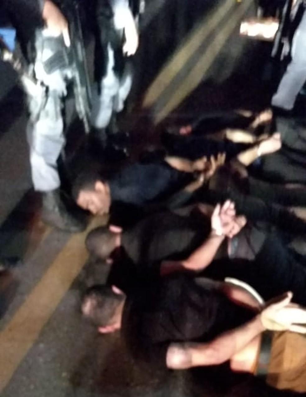 Polícia prende em Santa Luzia do Paruá bandidos envolvidos em assalto em agência bancária em Bacabal — Foto: Divulgação/Polícia