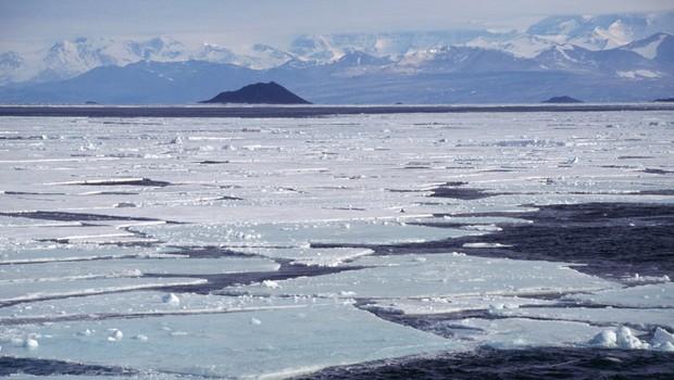 Antártica: geleiras ameaçadas pelo aquecimento global  (Foto: Getty Images)