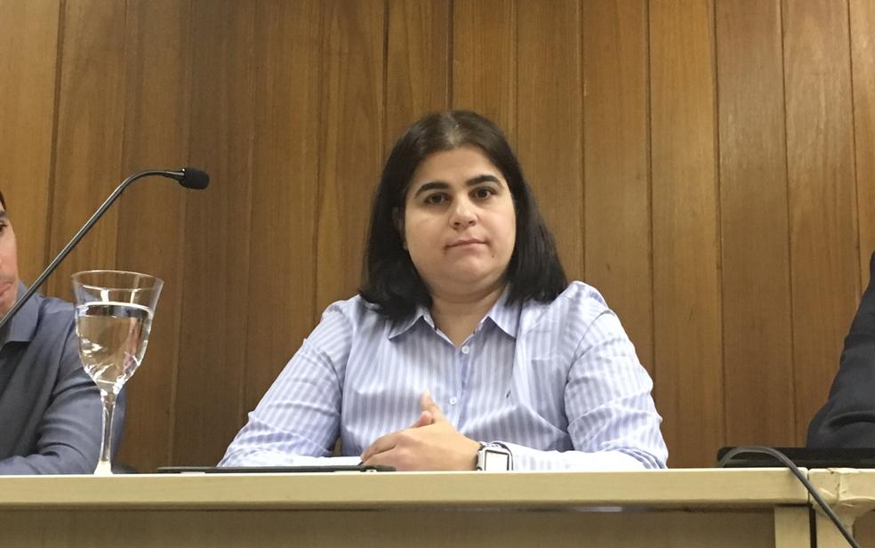 A professora Fernanda Nora, que era amiga da advogada Laís Fernanda Araújo Silva e propôs defesa póstuma de dissertação de mestrado (Foto: Sílvio Túlio/G1)