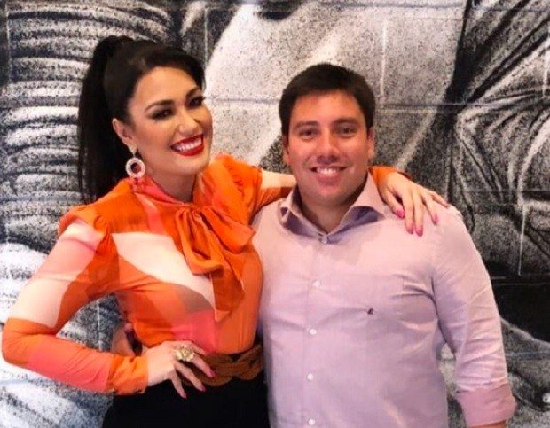 Milene Uehara e Lucas do Valle  (Foto: Reprodução/Instagram)