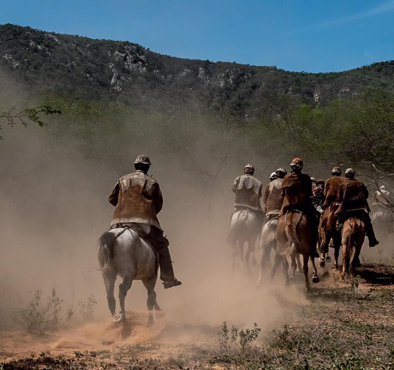 Vaqueiros do Pajeú (Foto: José Medeiros)