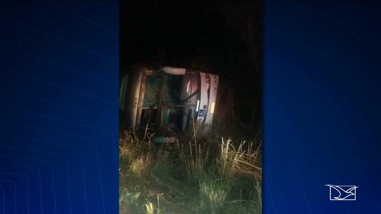 Acidente grave deixa duas pessoas mortas na BR-226, em Grajaú (MA)