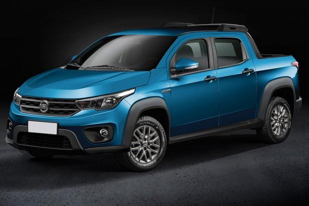 Nova Fiat Strada terá opção de cabine dupla para cinco passageiros (Foto: Renato Aspromonte/Autoesporte)