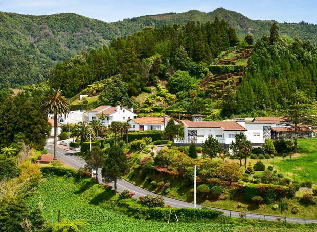 Furnas, Açores, em Portugal (Foto: Shutterstock/ Reprodução)