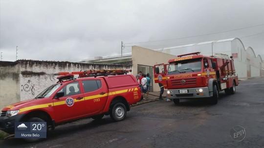 Pacientes psiquiátricos e cuidadora são levados para hospital após incêndio em Alfenas