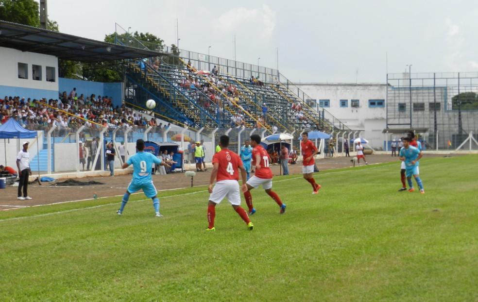 Em 2014, Brenão recebeu jogos da Copinha pela primeira vez — Foto: Arquivo / GloboEsporte.com