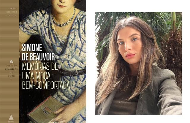 """Renata Garcia, Editora Digital Memórias de uma moça bem-comportada, de Simone de Beauvoir. """"Ganhei este livro da minha avó, quando eu tinha 15 anos e me encantei pela obra e pela filósofa existencialista (uma das minhas escritoras favoritas até hoje). Nes (Foto: Divulgação/Arquivo pessoal)"""