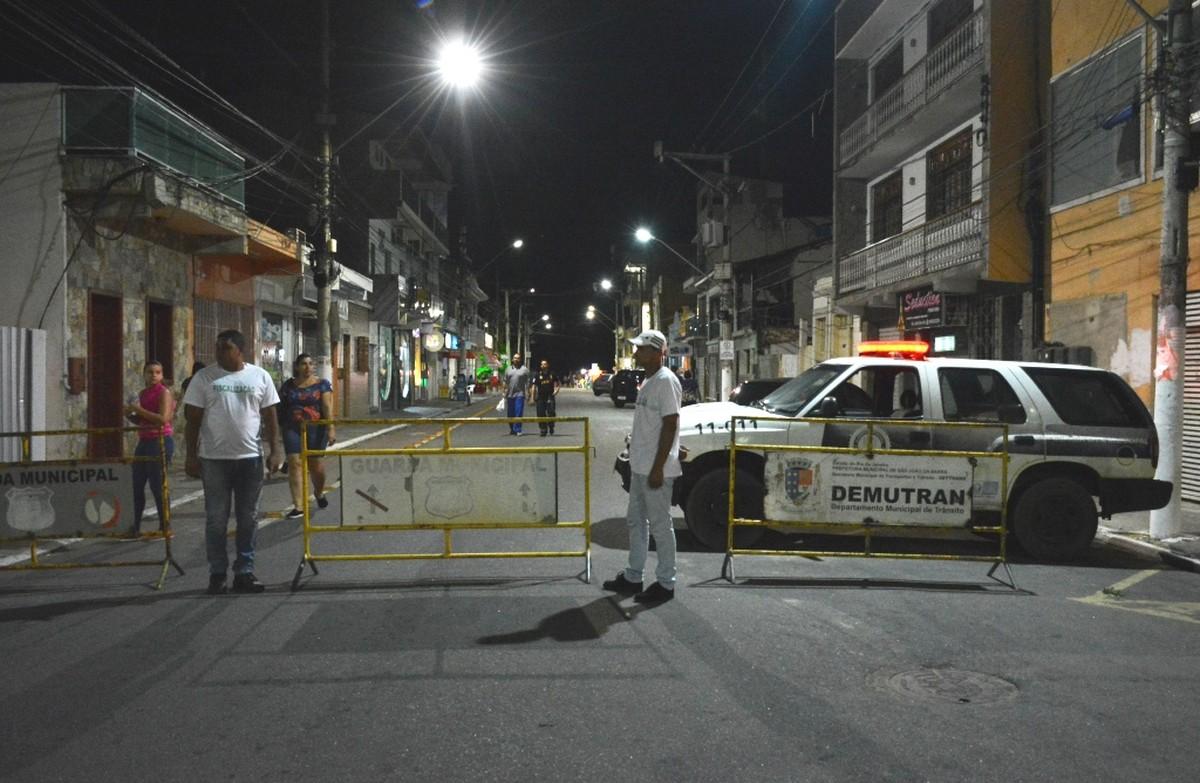 Ruas do Centro Histórico de São João da Barra, RJ, ficarão fechadas aos domingos