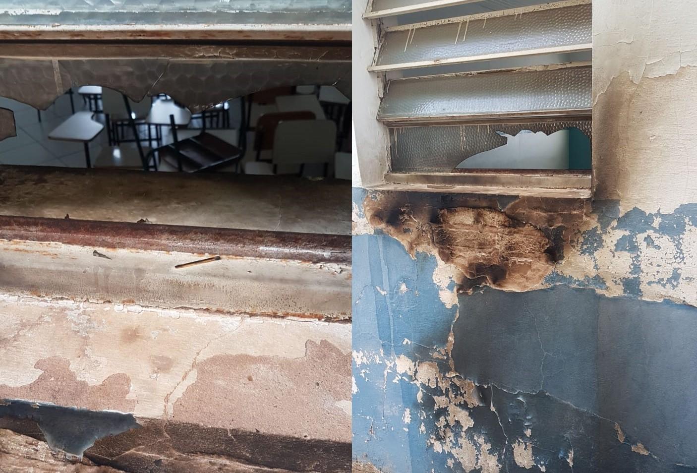 Polícia investiga incêndio que atingiu centro profissionalizante em Marília