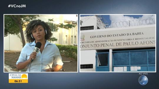 Justiça determina a transferência dos presos do Conjunto Penal de Paulo Afonso