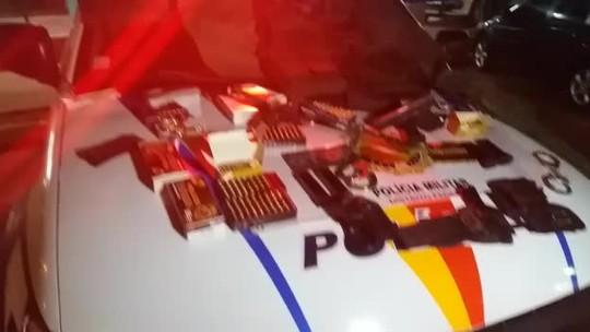 Vendedor de armas é preso em flagrante em São Sebastião, no DF