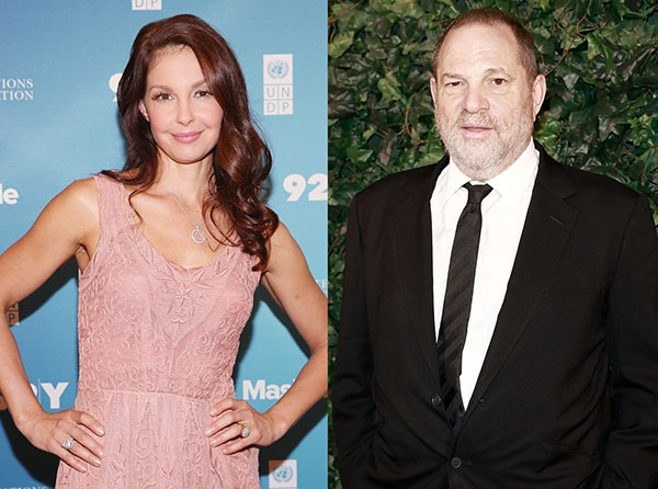 Ashley Judd e Harvey Weinstein (Foto: Getty Images)
