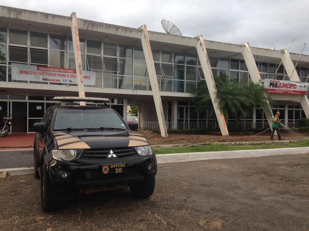 Operação da Polícia Federal em cidades da Bahia (Foto: Divulgação/PF)