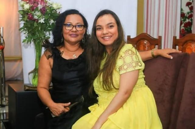 Mara e Aracy Viana (Foto: Reprodução)
