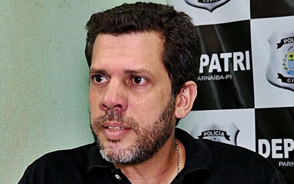 Delegado João Rodrigo Luna — Foto: Kairo Amaral/G1