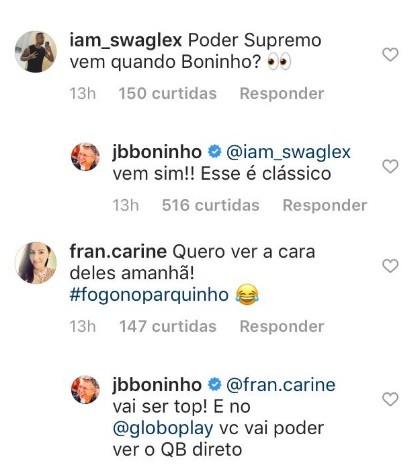 Boninho dá detalhes de novidades do 'BBB' (Foto: Reprodução/Instagram)