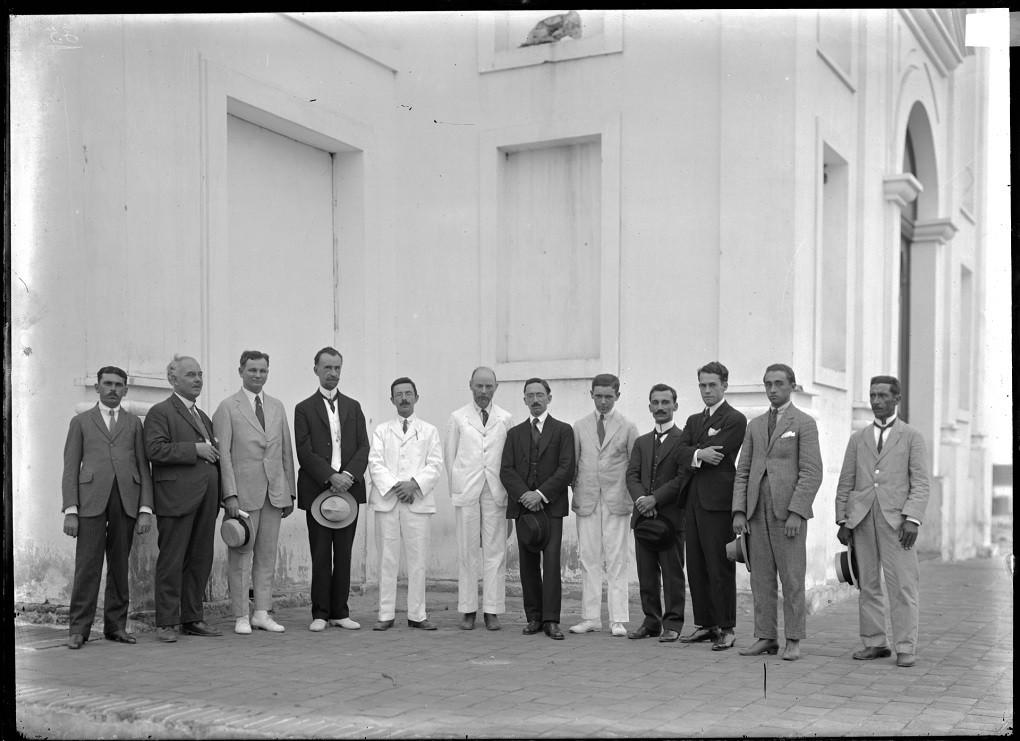 A equipe que participou da expedição a Sobral (Foto: Divulgação/ Observatório Nacional)