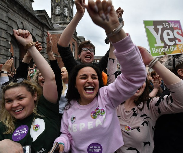 Aborto na Irlanda (Foto: Getty Images)