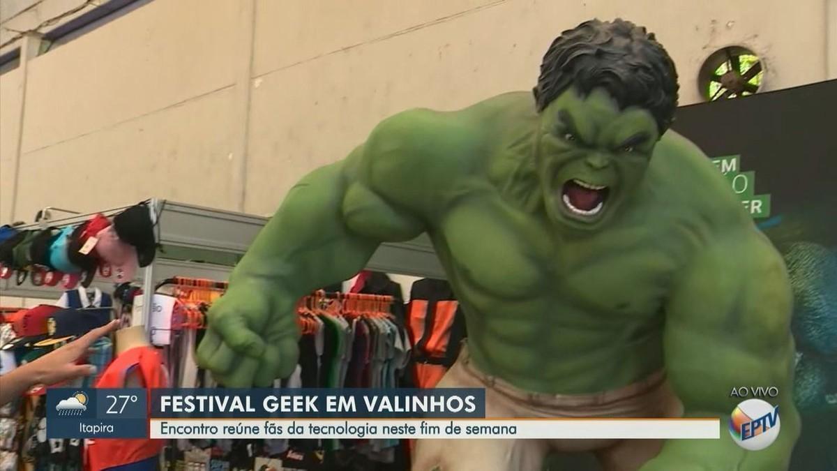 Geek Interior Festival recebe artistas e gamers em Valinhos; veja programação e ingressos - G1
