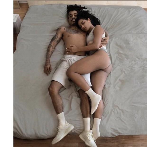 Foto da campanha da Yeezy (Foto: reprodução)