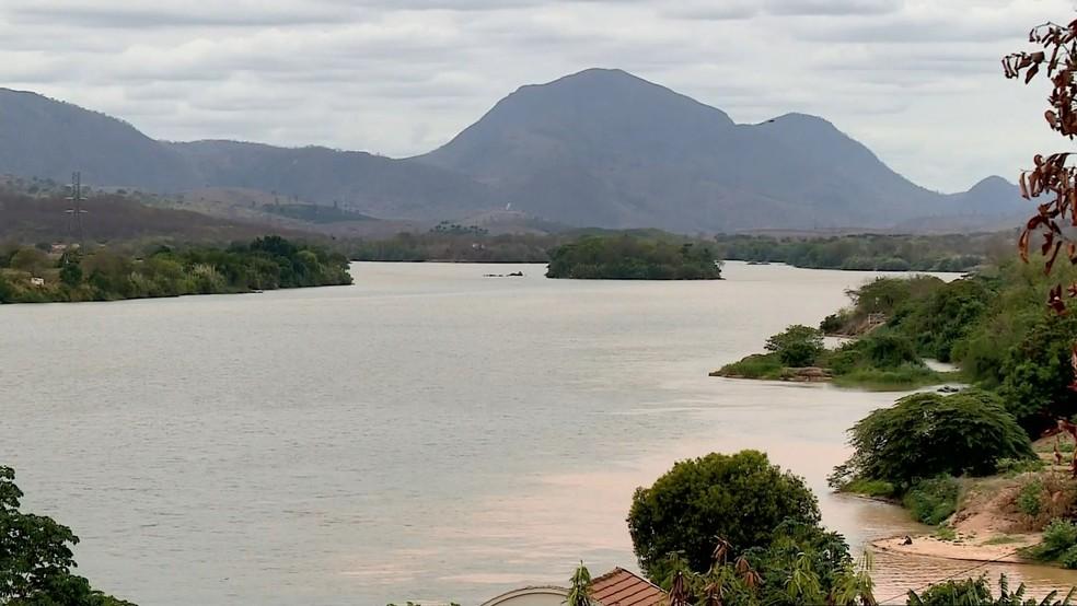 Rio Doce em Baixo Guandu, na região Noroeste do Espírito Santo — Foto: Wando Fagundes/ TV Gazeta