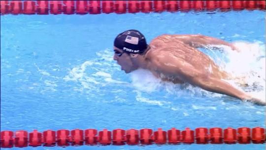 Nação Phelps: com 18 ouros, astro fica acima de quase 200 países na história