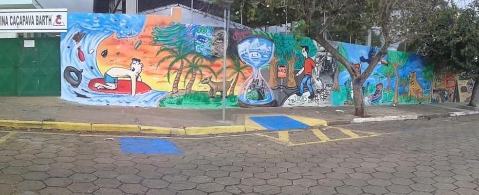 Escola Estadual Corina Caçapava, de Itapetininga — Foto: Divulgação
