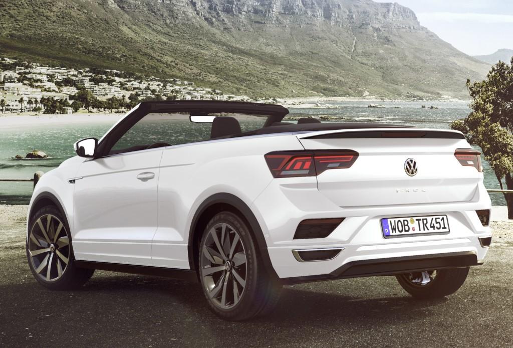 Volkswagen revela o T-Roc Cabriolet, um SUV conversível